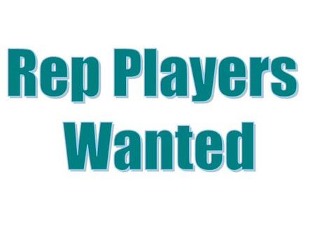 Rep Players Wanted!
