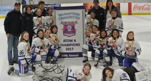 Atom A finishes season with Gold in Brampton